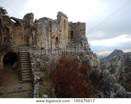 Mediaval Fort St Hilarion Castle
