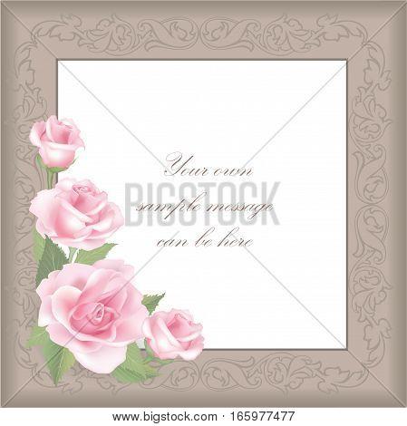 Rose-frame-16-square