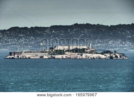 The famous prison by Alcatraz Island - San Francisco