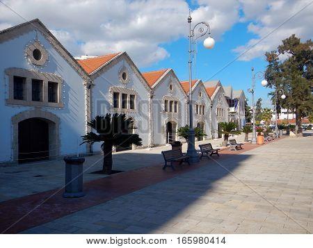 Larnaka Historical Marina In City Center
