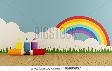 Colorful Home Playroom