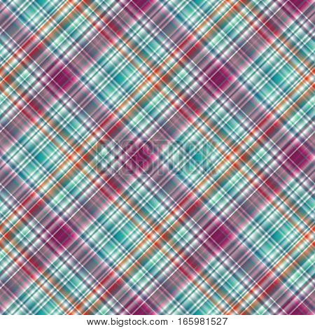 Seamless tartan pattern. Fabric texture. Abstract square diagonal background.