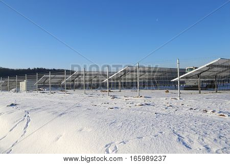 Solar power plant construction / Alternative energy