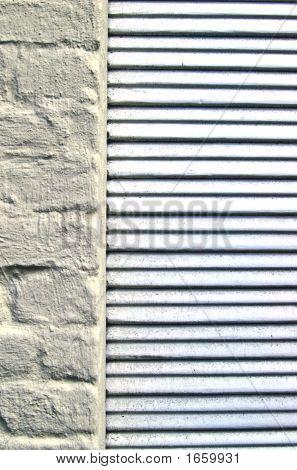 Louvers On Brick