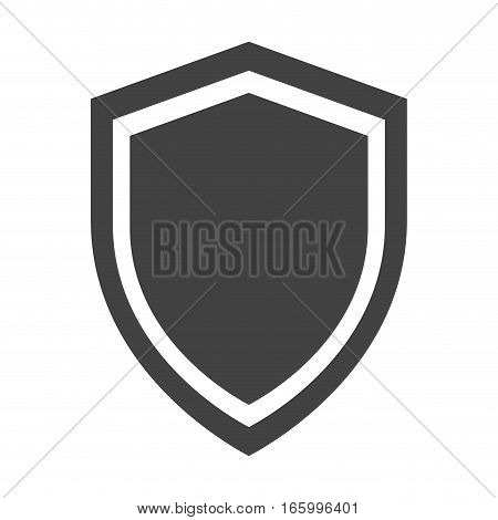 shield protection anti virus insignia security vector illustration eps 10