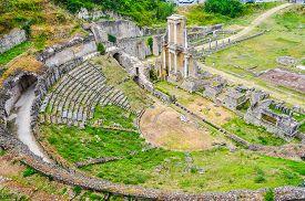 Hdr Roman Theatre In Volterra