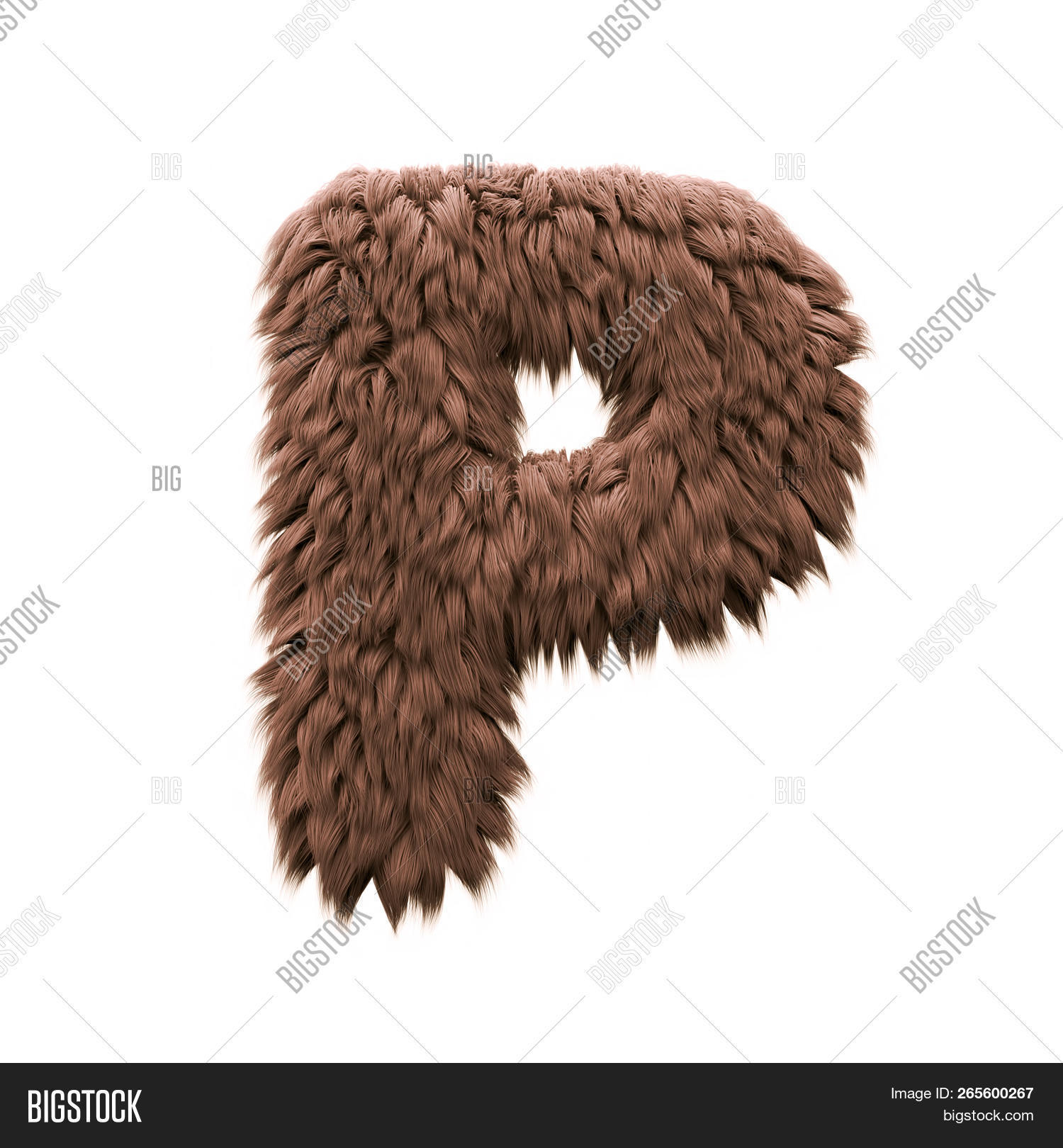 Monster Letter P  Image & Photo (Free Trial) | Bigstock