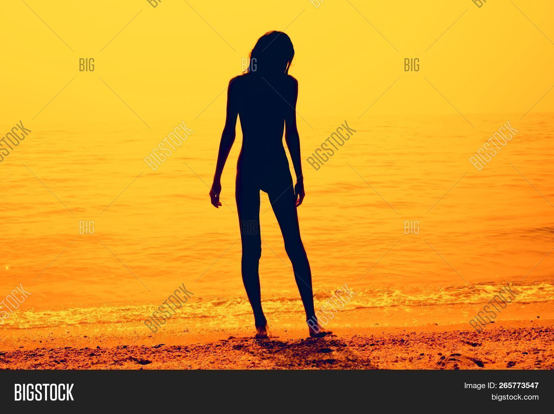 Silhouette Skinny Image & Photo (Free Trial) | Bigstock