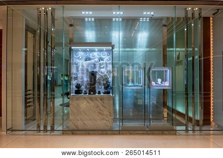 Fadamas Store At Central World, Bangkok, Thailand, Sep 2, 2018 : Jewelry Store Front In The Shopping