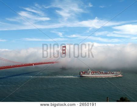 San Francisco And Boat
