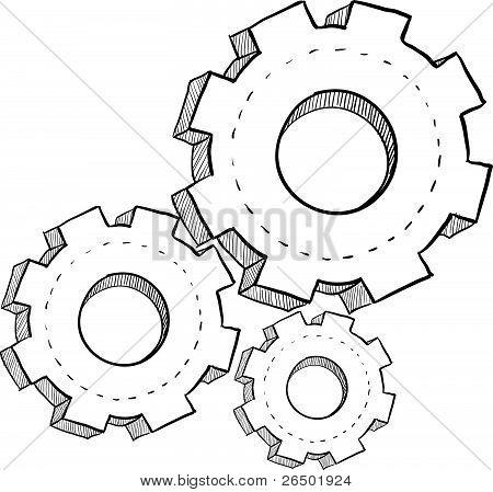 Gears or settings sketch