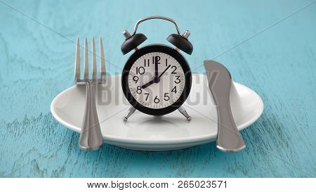 Intermittent Fasting And Meal Planning Concept