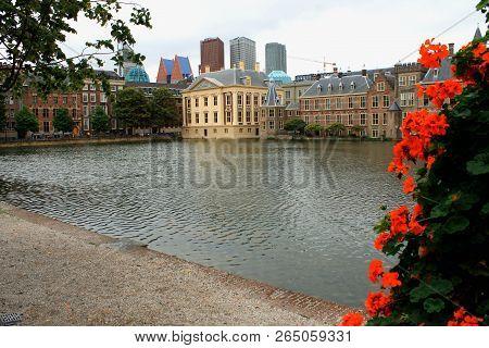 Binnenhof Palace - Dutch Parlament In The Hague (den Haag). Netherlands (holland)