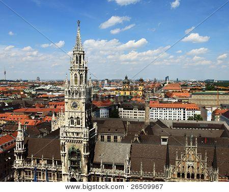 Marienplatz Munich-Germany