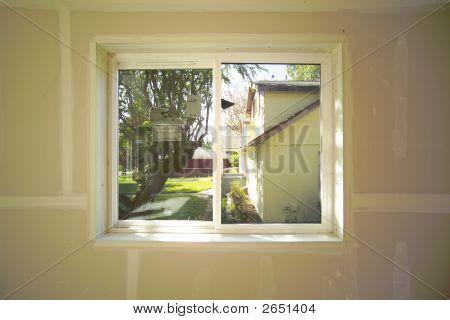 Window -  Interior Under Construction