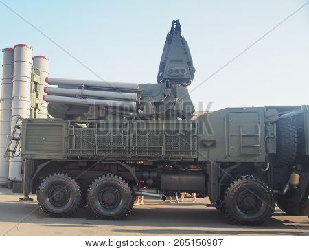 Anti-aircraft Missile And Artillery Complex Sa-22