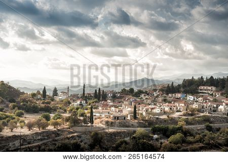 Kato Drys, A Small Village In Cyprus, Northwest Of Larnaca.