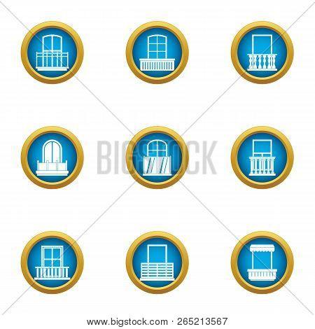 Loophole Icons Set. Flat Set Of 9 Loophole Vector Icons For Web Isolated On White Background