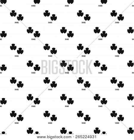 Rhino Step Pattern Seamless Vector Repeat Geometric For Any Web Design