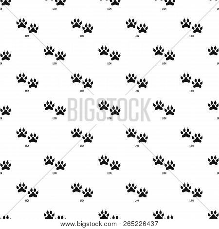 Lion Step Pattern Seamless Vector Repeat Geometric For Any Web Design
