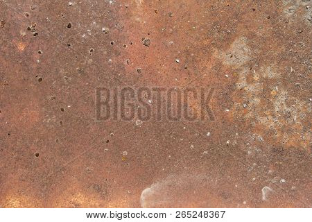Old Metal Iron Rust Background And Texture, Vintage Texture, Old Metal Iron Rust Background And Text