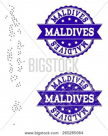 Dotted Black Map Vector & Photo (Free Trial) | Bigstock