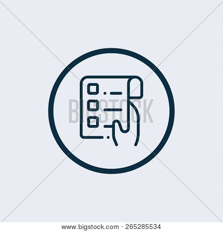 To Do List Icon. List Icon. List Sign. Vector Illustration