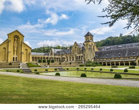 The Buildings Of The New Trappist Cistercian Orval Abbey, Abbaye Notre-dame Dorval, In Villers-devan