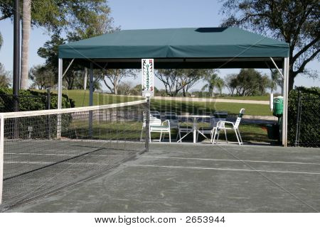 Shady Spot Off The Court