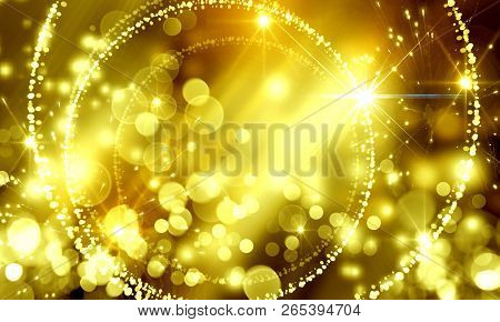 Abstract, Background, Spot, Blurred, Bokeh, Bright, Holiday, Christmas, Beautiful, Frame,  Color, De