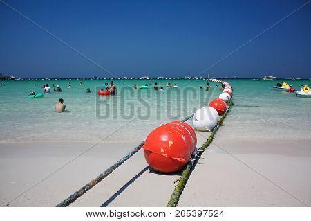 Tawaen Beach In Koh Larn Island, Thailand