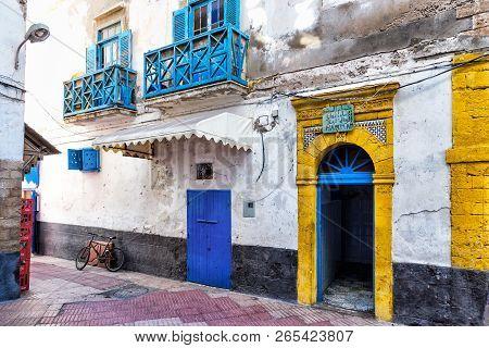 Essaouira, Morocco - December 24, 2017: View Of The Medina Of Essaouira, An Example Of A Late 18th-c