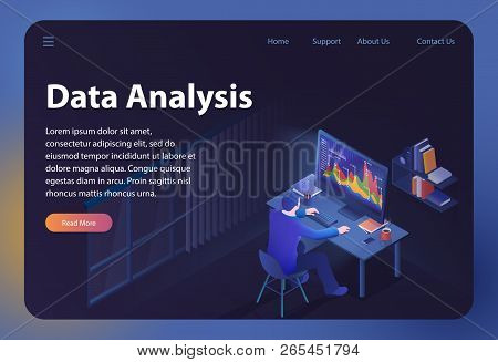 Data Analysis. Big Data Analyzing. Financial Analytics And Statistic. Analytics And Digital Technolo