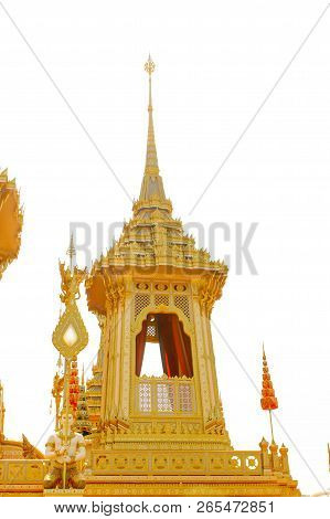Bangkok, Thailand - November 04, 2017; Some Part In Royal Crematorium For The Late King Bhumibol Adu