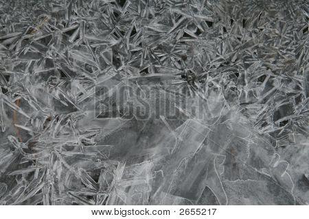 Frozen Ice Back Ground