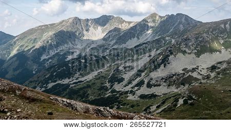 View To Rohace Mountain Group From Hiking Trail Between Ziarske Sedlo And Smrek Peak In Zapadne Tatr