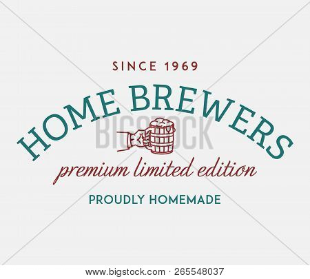 Beer Brewers Limited Edition Is A Vector Illustration About Drinking