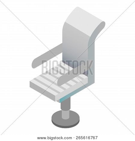 Boss Armchair Icon. Isometric Of Boss Armchair Vector Icon For Web Design Isolated On White Backgrou