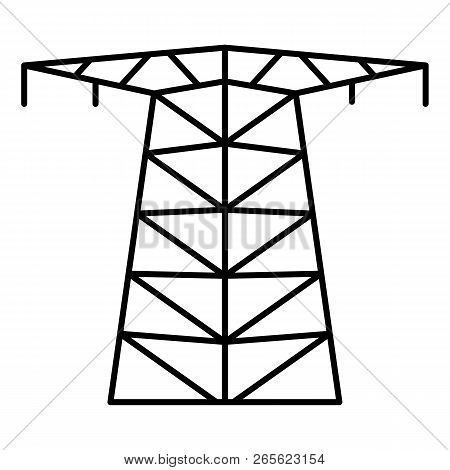 Large Electric Tower Vector Photo Free Trial