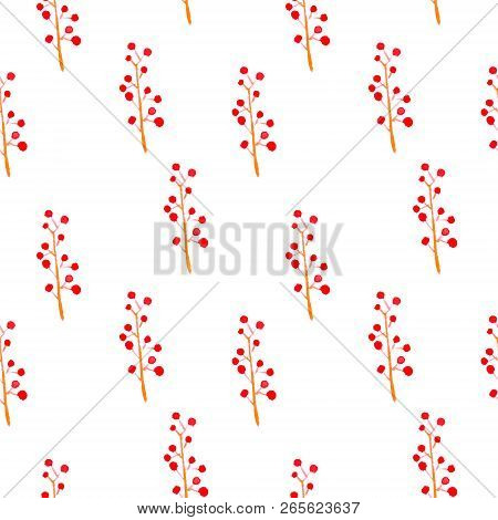 Cute Watercolor Floral Seamless Pattern. Pink Boho Flowers. Vintage Hippie Style. Cute Floral Waterc