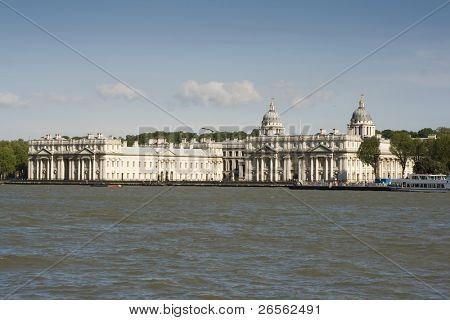 The Old Royal Naval College in Greenwich, London