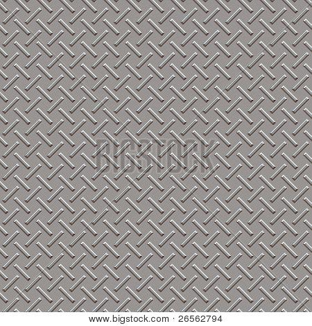 Metallic panel texture in grey shades