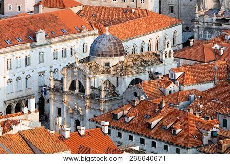 St Blaise's Church In Dubrovnik, Croatia.