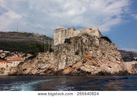 Fort Lawrence In Dubrovnik, Croatia