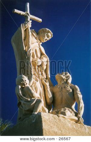 Spirtual Statue