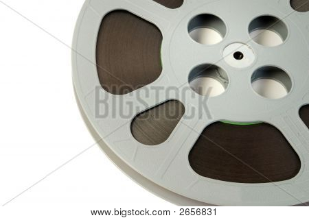 Film Reel Closeup