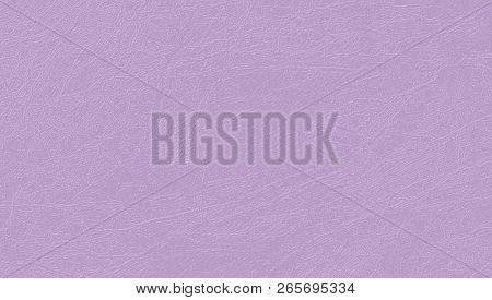 Colored Skin Texture, Natural Or Faux Leather Background. Mauve Vector Backdrop. Soft, Delicate And