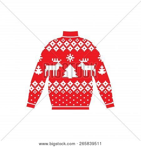Winter Warm Sweater Handmade, Svitshot, Jumper For Knit, Red Color. Womens Sweaters, Mens Sweater, U