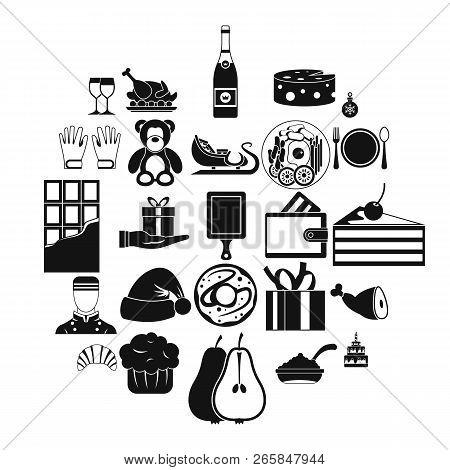 Generosity Icons Set. Simple Set Of 25 Generosity Vector Icons For Web Isolated On White Background