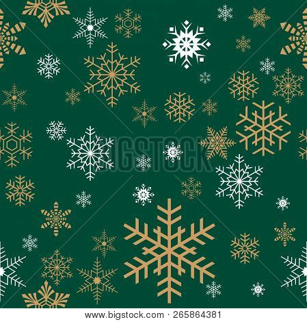 Seamless Christmas Gift Wrapping Paper Pattern Texture Wallpaper.